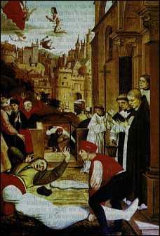 Quelle terrible drame frappa la ville de Rouen en 1455 ?