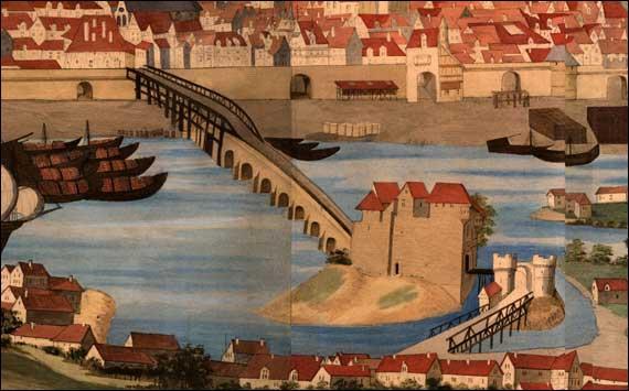 Parmi ces ponts, lequel n'existe pas à Rouen ?