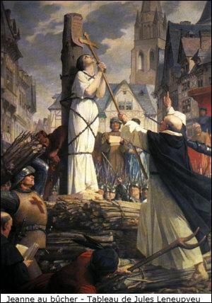 Où Jeanne d'Arc fut-elle brûlée vive ?