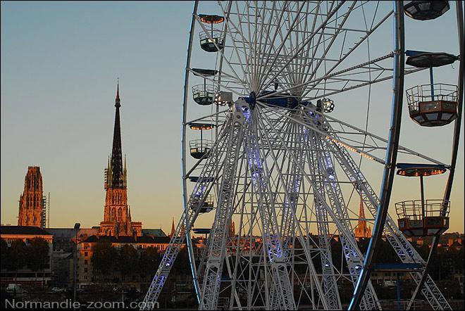 Une célèbre fête a lieu à Rouen, elle dure un mois, entre octobre et novembre ; il s'agit de...