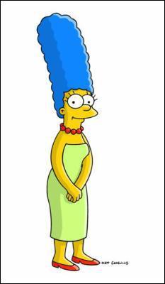Avec ses cheveux , elle ne passe pas inaperçue :