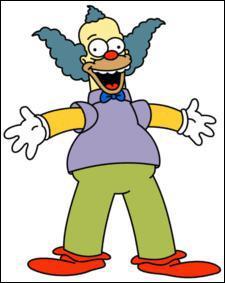 Le clown de la série :
