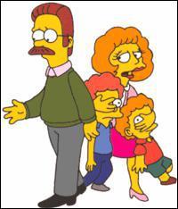 Les voisins des Simpson :