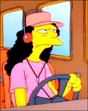 Le conducteur du bus scolaire :