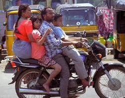 Code de la route en Inde