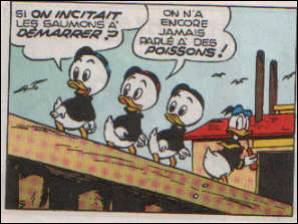Qui sont les parents des neveux de Donald ?