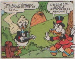 Comment se nomme la grand-mère paternelle de Donald épouse de Joseph Duck ?