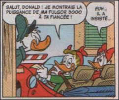 Qui est la fiancée de Donald ?