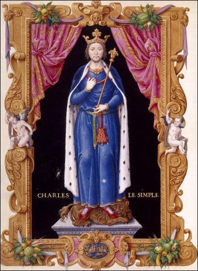 Roi de France de 893 à 922
