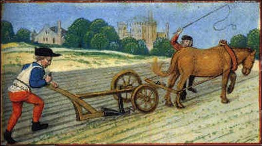 Paysans et seigneurs quiz qcm paysans - Quel outil pour retourner la terre ...