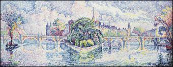 Quel peintre a réalisé 'Le jardin du Vert-Galant' ?