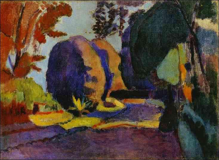 Quel peintre a représenté le Jardin du Luxembourg ?