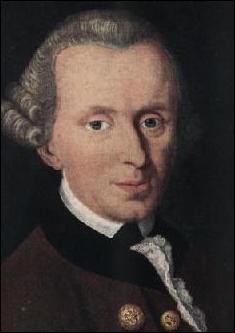 Ce philosophe allemand, fondateur de l'idéalisme transcendantal est né en 1724. Qui est-il ?