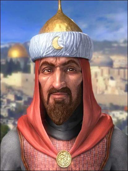 Roi d'Égypte il fut également roi de Syrie au XIIe siècle. Qui est-il ?