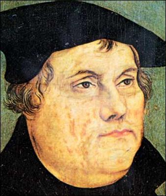 Qui est ce réformateur allemand s'opposant à l'Église catholique, fondant sa propre église, celle des luthériens et marquant ainsi le début du protestantisme ?