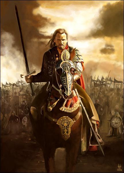 Comment se nomme l'héritier légitime du trône du Gondor ?