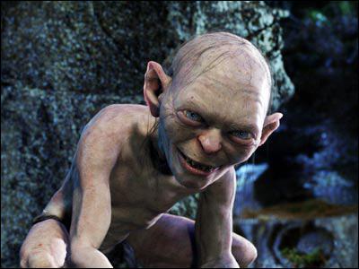 Comment Gollum est-il entré en possession de l'anneau maléfique ?