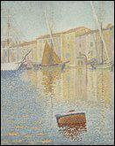 Quel peintre pointilliste a réalisé 'La bouée rouge' ?