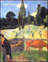 Quel peintre post impressionniste a réalisé 'La vache rouge' ?