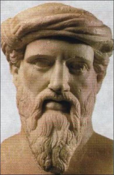 Philosophe, mathématicien et scientifique grec. Il est célèbre grâce au théorème qui porte son nom. Qui est-il ?