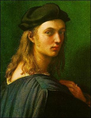 Peintre et architecte italien (183-1520). A peint, entre autres, Sainte Catherine d'Alexandrie, La Fornarina, Mariage de la Vierge. Qui est-il ?