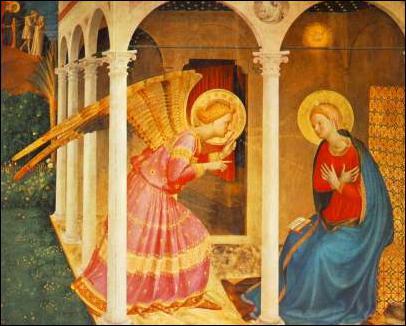 Peintre italien (1387-1455). Il a peint Le jugement dernier, Nativité, Noli me tangere...