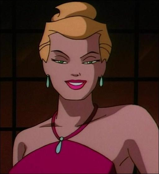 De son vrai nom Selina Kyle, elle apparaît en blonde dans 'Batman, la série animée' alors qu'elle est d'habitude représentée en brune :