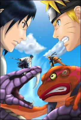 Naruto peut invoquer des crapauds du mont...