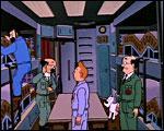 Pour vous départager qui se trouve à la droite de Tintin ?