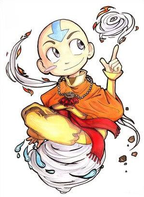 Avatar, le dernier maitre de l'air en image