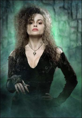 Qui est Bellatrix Lestrange par rapport à Sirius Black ?