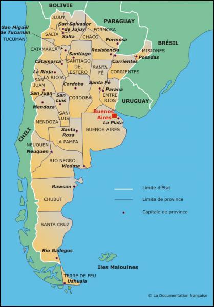 Quel est l'emblème de l'Argentine ?