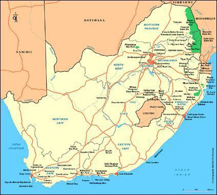 Quel est l'emblème de l'Afrique du Sud ?