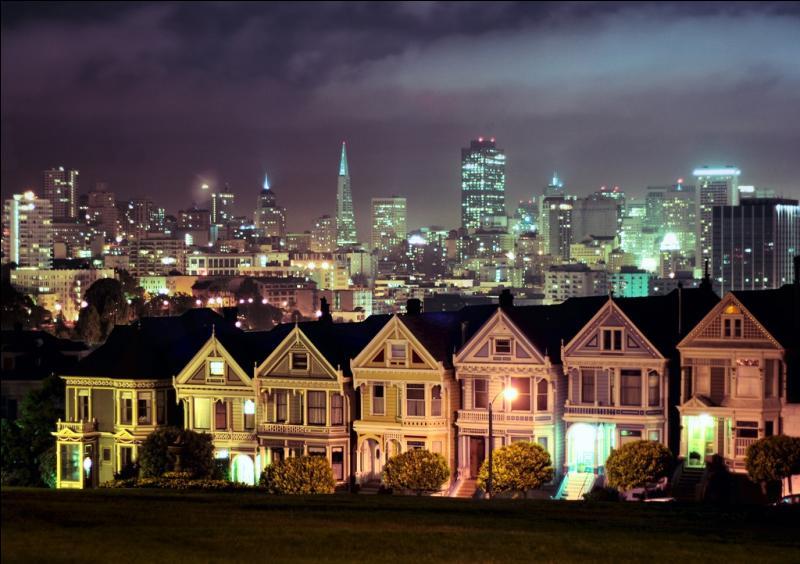 San Fransisco s'embrume, San Fransico s'allume...