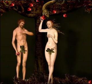 Qui a peint 'Adam et Eve', la première oeuvre du générique ?
