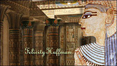 Qui à peint 'L'hypostyle du temple de Philae', seconde oeuvre du générique ?