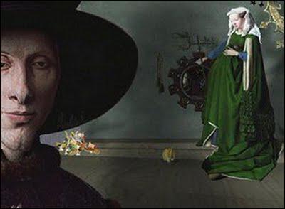 Qui a peint 'Les époux Arnolfini', troisième oeuvre du générique ?