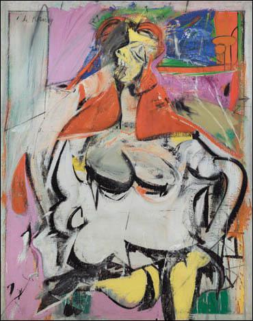 A quel courant artistique appartient Willem De Kooning ?