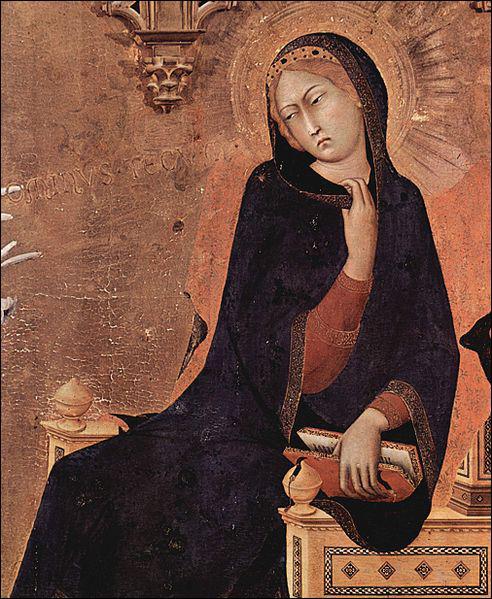 A quel courant artistique appartient le peintre Simone Martini ?