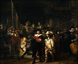 Quel peintre hollandais du 17ème siècle a réalisé 'La ronde de nuit' ?