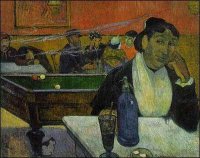 Quel peintre post-impressionniste a réalisé 'Café de nuit à Arles' ?