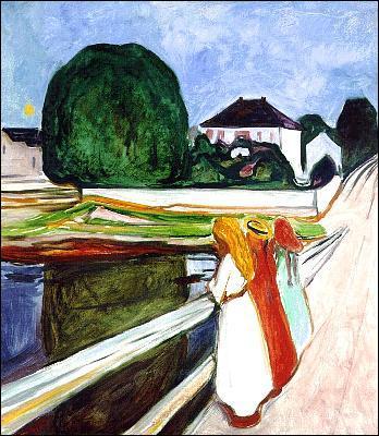 Quel peintre expressionniste a réalisé 'Nuit blanche' ?