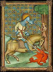 Tout aussi légendaire, voici Ascalon, épée d'un saint homme qui terrassa le dragon; ce saint homme est :