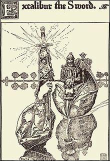 Et voici une des plus célèbres épées de légende entre les mains du roi Arthur; c'est :