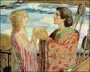 Lui, sauvé de la mort par sa belle, ils partageront un philtre d'amour :