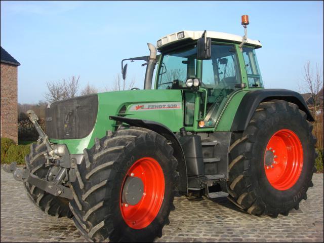 Quelle est la série de ce tracteur Fendt ?