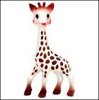 En quelle année fut créée Sophie la Girafe, par M. Rampeau ?