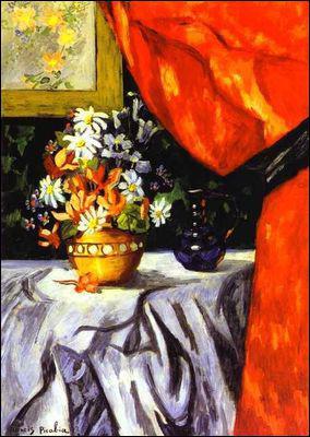 Qui a peint Vase de fleurs ?
