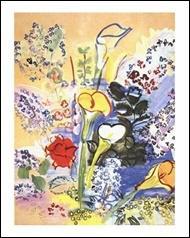 Qui a peint Le bouquet d'Arums ?