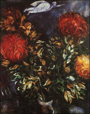 Qui a peint Bouquet de fleurs ?